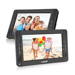 "10.1"" Dual Screen DVD Player Ultra-thin Portable Car Backsea"