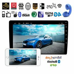 10.1'' Android 8.1 Car MP5 No DVD Player 2DIN Quad Core Ster