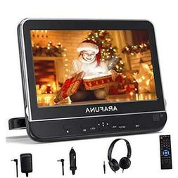 10.1 Inch Car DVD Player with Headrest Mount, Portable DVD P