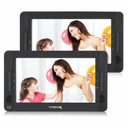 "10.1"" TFT Dual Screen Portable DVD Player for Car Headrest 1"