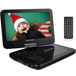 "DBPOWER 10.5"" Portable DVD Player with Swivel Screen, 3 Hour"