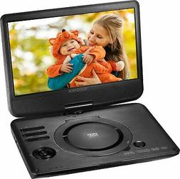 """Insignia- 10"""" Portable DVD Player with Swivel Screen - Black"""