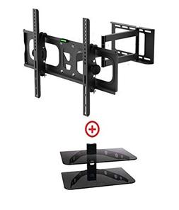 Mount World 1092-2d LCD LED Swivel Tilt Wall Mount Bracket f