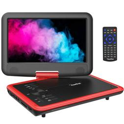 """11.1"""" Portable DVD Player HD CD TV Player 270° LCD Widescre"""
