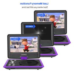 """11.5"""" Car Portable DVD Player  HD Swivel Screen Rechargeable"""