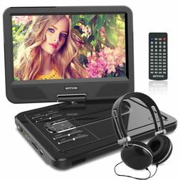"WONNIE 12.5''Portable DVD Player for Car,10.5"" Swivel Scre"