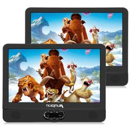 "12"" Dual Screen HD Portable DVD Player for Car 1024*600 USB"