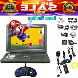 "13.9"" Portable HD Car DVD VCD CD Player Game FM TV Function"