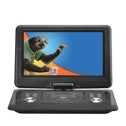 14 Inch Portable DVD Player Rotating Screen Touch LCD Car HD