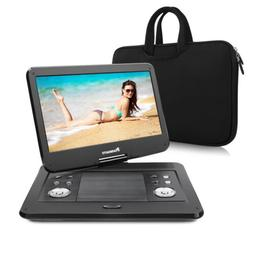 "14"" TFT Portable DVD Player 1366*768 Large Swivel Screen Rec"