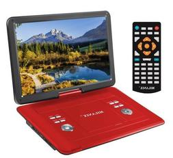 15.4'' Portable CD/DVD Player, HD Widescreen Display Bui