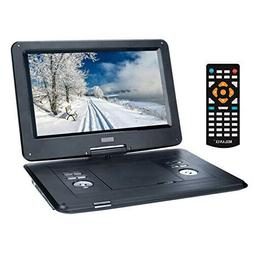 """15.4"""" Portable DVD Player with Large Swivel Angle Adjustable"""