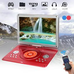 16'' Portable DVD Player HD CD TV Player 16:9 LCD Swivel Scr