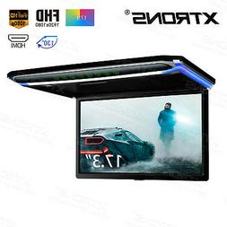 17.3 inch Overhead Roof Monitor Car Vehicle Video HDMI 1080P