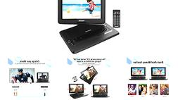 """TENKER 17.9"""" Portable DVD Player with 15.6"""" Swivel Screen,"""
