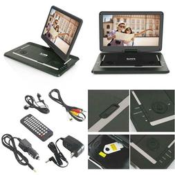 "Pyle 17.9"" Portable Dvd Player, With 15.6 Inch Swivel Adju"