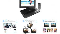 """TENKER 17.9"""" Portable DVD Player with 15.6"""" Swivel Screen, 4"""
