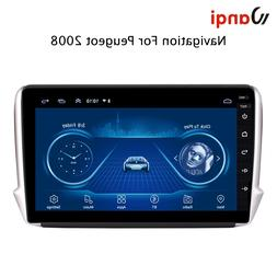 2.5D screen Android 8.1 Car GPS Multimedia For Peugeot 2008