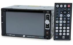 """Dual 2-DIN 6.2"""" Touch Screen Car Stereo DVD Player Receiver"""