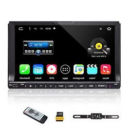 """2017 Upgraded Double 2 Din Car Stereo - Ehotchpotch 7"""" In Da"""
