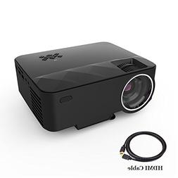 2018 Video Projectors,XINDA 1500 lumens Projector With Free