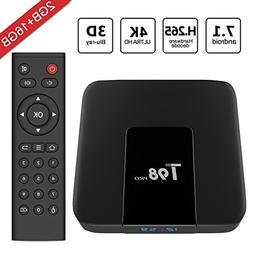 Greatever 2018 Newest T98 pro Android 7.1 TV Box 2GB+16GB wi