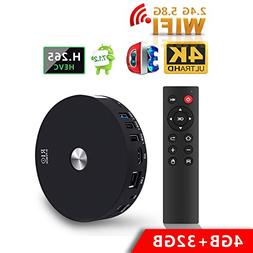 2018 Newest TV Box, SCS ETC R10 4GB +32GB Dual WIFI Android