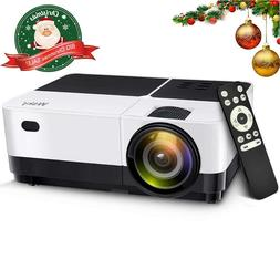 Wsky Portable LCD Home Movie Projector - Best 2019 3000L Por