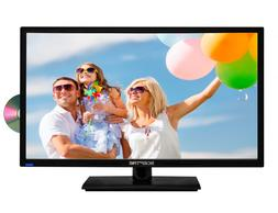 "24"" 1080P LED HDTV With Built In DVD Player Full HD TV Telev"