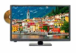 24 Inch Class Hd  Led Tv With Built-In Dvd Player True Black