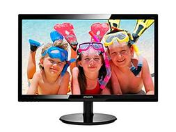 "Philips 246V5LHAB 24"" LED Monitor, 1920X1080 Resolution, 2"
