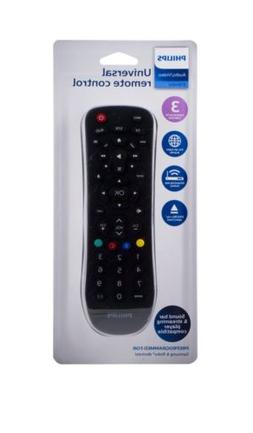 Philips 3-Device Universal Remote Control, Works with Smart