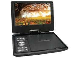 "QFX PDT-309DTV 9"" Portable/Rechargeable Digital TV +DVD Play"