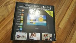 """3IN1 9"""" TOUCHSCREEN PORTABLE DVD PLAYER, TABLET, DVD COMBO B"""