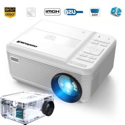 5000 Lumens Classic DVD Player LCD LED Projector Home Theate