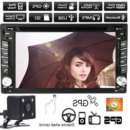 """6.2"""" Double 2 Din In Dash Car CD DVD Player Radio Stereo GPS"""