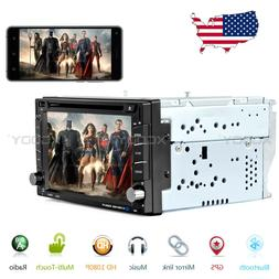 6.2Inch Car GPS Navigation Radio DVD Player Double 2DIN Ster