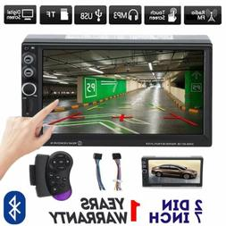 7inch 2 DIN In dash Touch Screen Car stereo Radio FM MP5 Pla