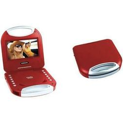 """Sylvania 7"""" Portable Dvd Player With Integrated Handle"""