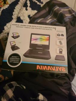 Sylvania 7 inch portable dvd player with swivel screen