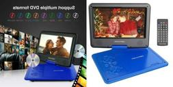 "DBPOWER 9.5"" Portable DVD Player Swivel Screen, 5-Hour Built"