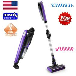 ALBOHES 2-In-1 Cordless Stick Vacuum Cleaner 9000Pa Carpet F