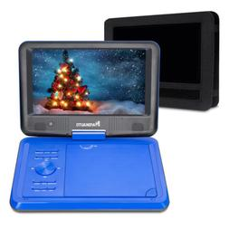 "9"" TFT Portable DVD Player w Car Headrest Mount Holder USB S"