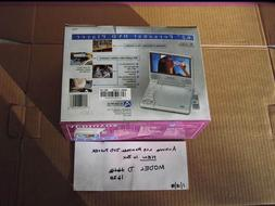 "AUDIOVOX TV 6.2"",LCD MONITOR & DVD PLAYER,NEW,MODEL D1620 W/"