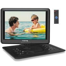 "9"" Portable DVD Player 270° Swivel Screen with Battery 5H +"