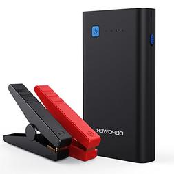 DBPOWER 500A 10800mAh Portable Car Jump Starter , Auto Batte