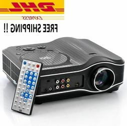 DVD Movie Projector with DVD Player Built In DVD Player Proj