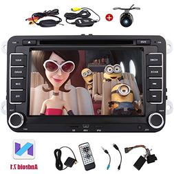 Design For Volkswagen VW Double Din EinCar Android 7.1 Car D
