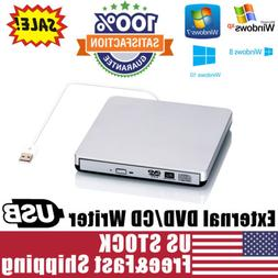 External USB2.0 DVD CD-RW Drive Writer Burner DVD Player for