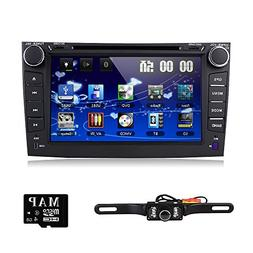 hizpo Car DVD Player 8 Inch Touch Screen GPS Stereo iPhone M